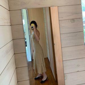 Vintage 90s linen dress